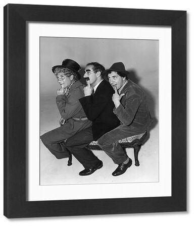 The Marx Brothers in A Day at the Races (1937)