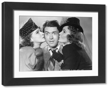 Dorothy Comingore, James Stewart, and Frances Gifford