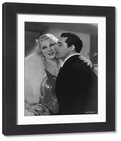 Mae West and Cary Grant