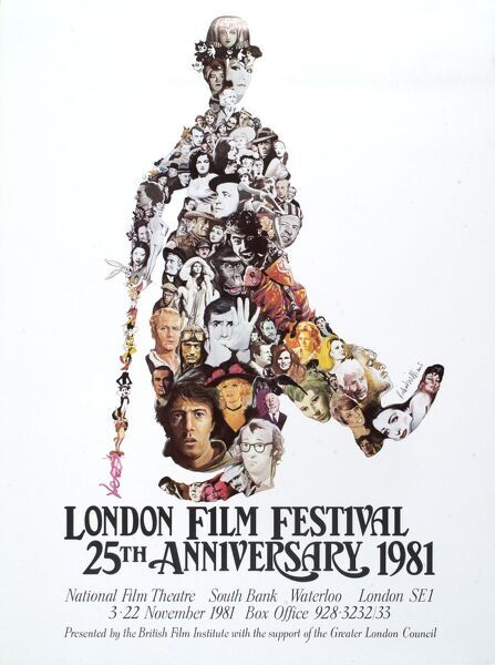 Poster from the 25th London Film Festival - 1981