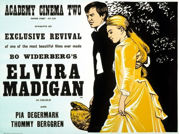 Academy Poster for Bo Widerberg's Elvira Madigan (1967)