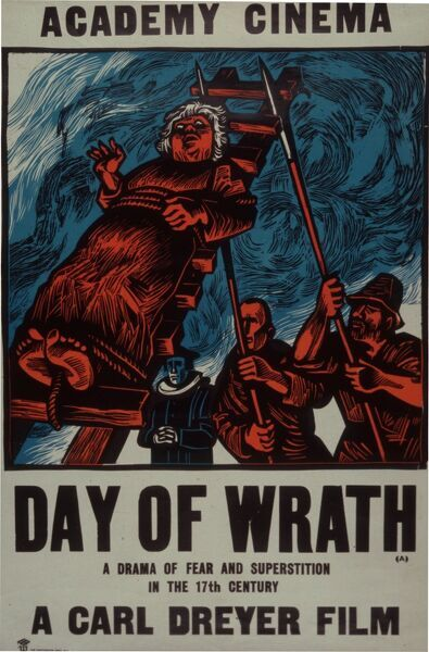 Academy Poster for Carl Dreyer's Day Of Wrath (1943)
