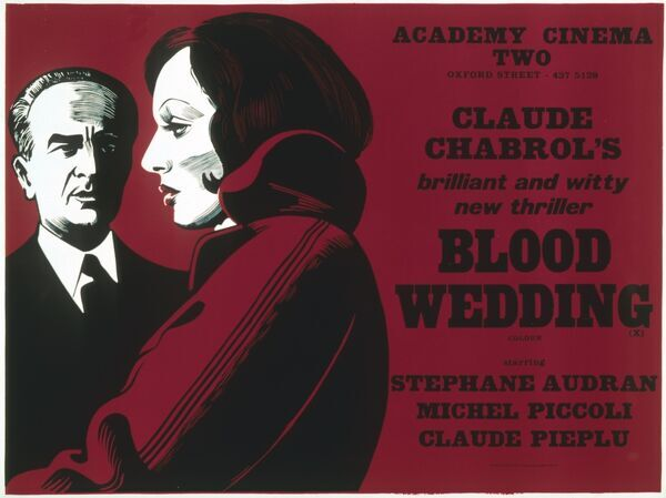 AKA Les NOCES ROUGES Stephanie Audran Michel Piccoli Claude Pieplu