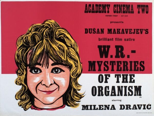 Academy Poster for Dusan Makavejev's W.R - Mysteries of the Organism (1971)
