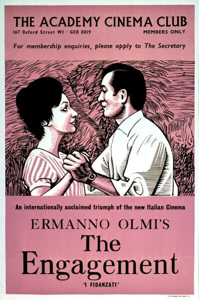 Academy Poster for Ermanno Olmi's The Engagement (1963)
