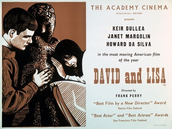 Academy Poster for Frank Perry's David And Lisa Keir Dullea Janet Margolin