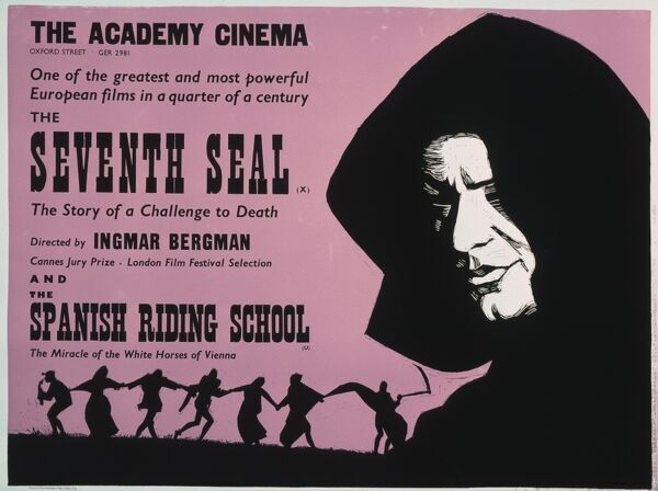 Academy Poster for Ingmar Bergman's The Seventh Seal (1957)