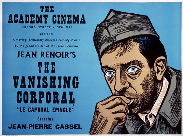 Academy Poster Jean Renoir's The Vanishing Corporal (1962) Le Caporal Epingle