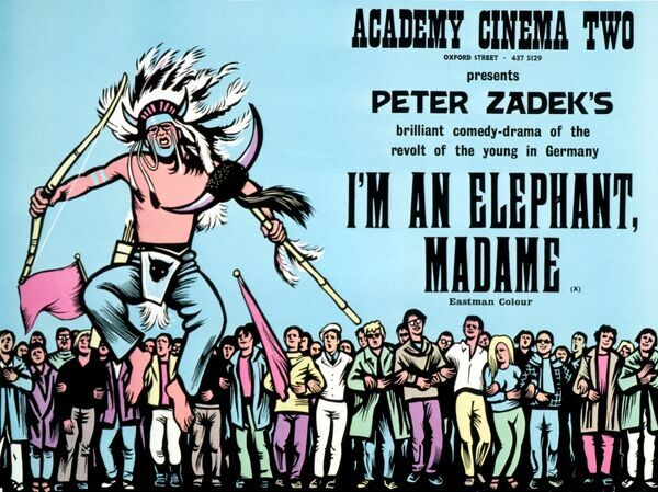 Academy Poster for Peter Zadek's I'm an Elephant, Madame (1968)