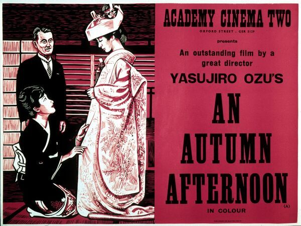 An Autumn Afternoon Yasujiro Ozu AKA SAMMA NO AJI