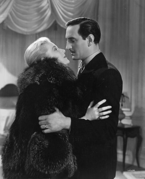 Ann Harding and Basil Rathbone