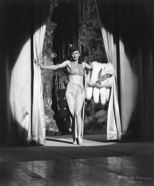 Barbara Stanwyck in William A Wellman's Lady Of Burlesque (1943)