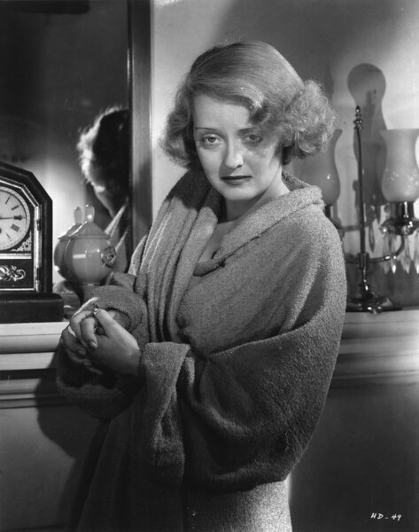 Bette Davis in Dangerous (1936) AKA HARD LUCK DAME