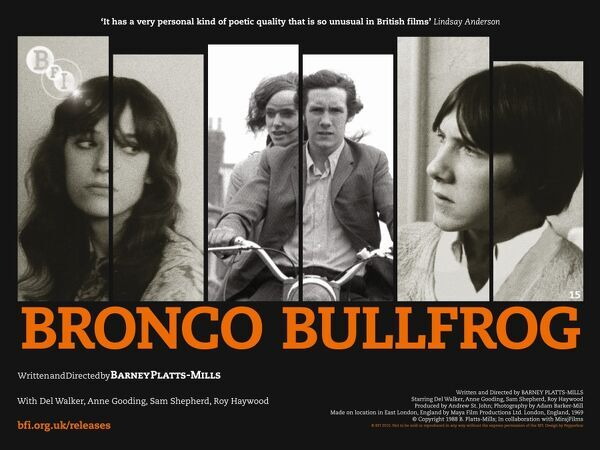 Bronco Bullfrog WALKER, Del GOODING, Anne SHEPHERD, Sam SHEPHERD, Chris HAYWOOD, Roy
