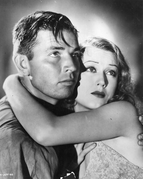 Bruce Cabot and Fay Wray in King Kong (1933)