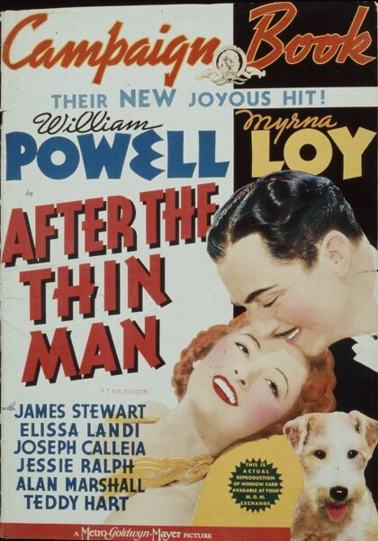 Campaign Book Cover for WS Van Dyke's After The Thin Man (1936)