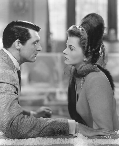 Cary Grant and Joan Fontaine