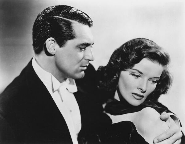 Cary Grant and Katharine Hepburn in George Cukor's Holiday (1938)