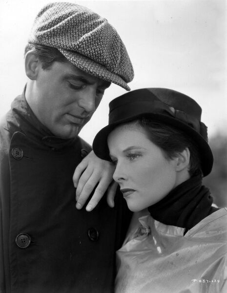 Cary Grant and Katharine Hepburn in Sylvia Scarlett (1935)