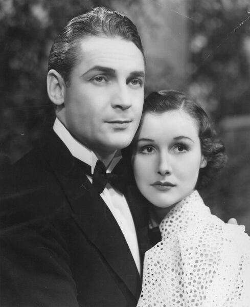 Charles Farrell and Barbara Greene