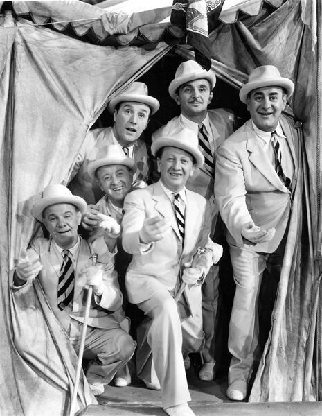 The Crazy Gang; Bud FLANAGAN, Chesney ALLEN, Jimmy NERVO, Teddy KNOX, Charlie NAUGHTON, and Jimmy GOLD