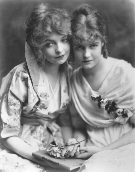Dorothy and Lillian Gish in Orphans of the Storm (1921)