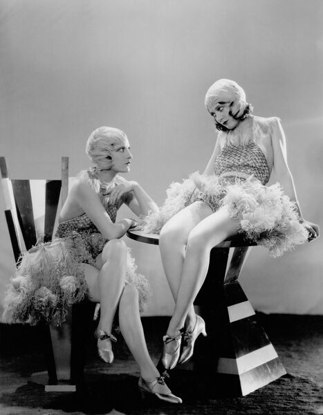 Evelyn Brent and Merna Kennedy in Paul Fejos' Broadway (1929)