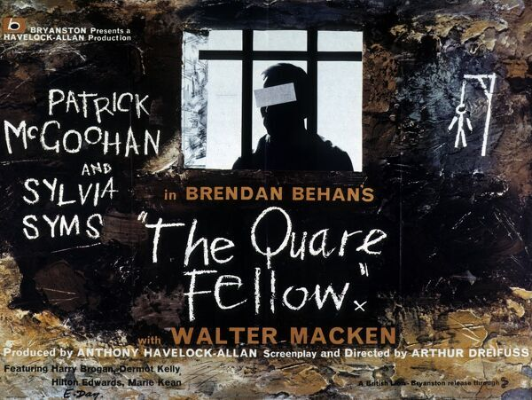 Brendan Behan Walter Macken Patrick McGoohan Sylvia Syms Anthony Havelock-Allan