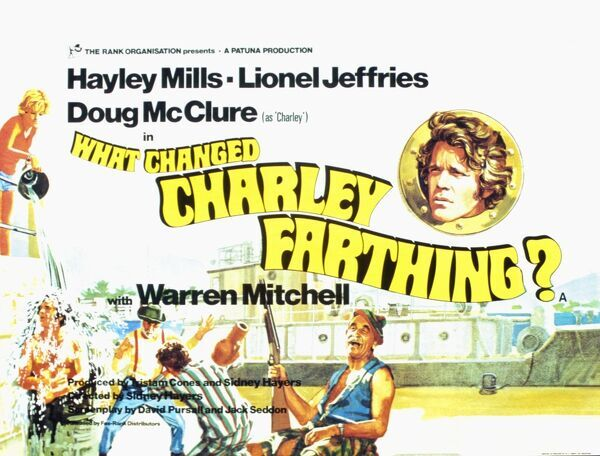 Que cambio A Charley Farthing? Warren Mitchell Hayley Mills Lionel Jeffries Doug McClure