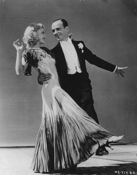 Ginger Rogers and Fred Astaire in The Gay Divorcee (1934)
