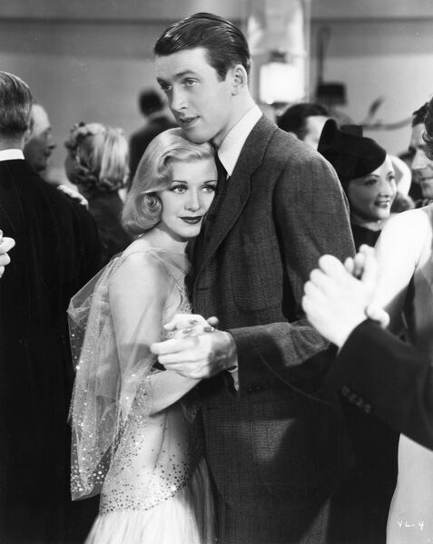 Ginger Rogers and James Stewart