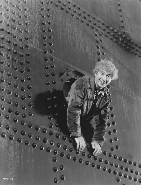 Harpo Marx in Sam Wood's A Night At The Opera (1935)