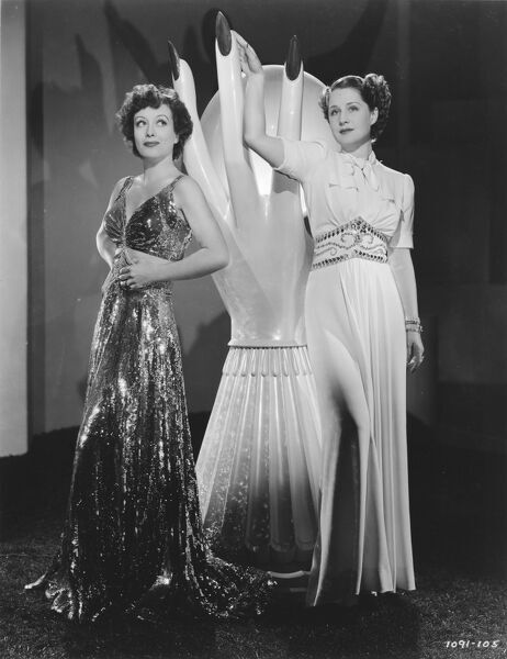 Joan Crawford and Norma Shearer