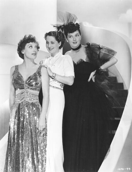Joan Crawford, Norma Shearer, and Rosalind Russell in George Cukor's The Women (1939)