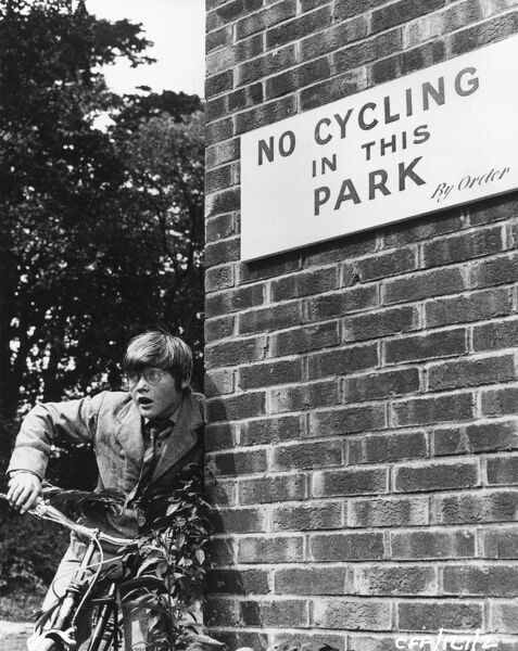 Keith Chegwin  No Cycling In The Park