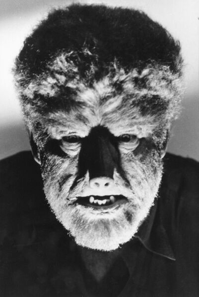Lon Chaney in George Waggner's The Wolf Man (1941)