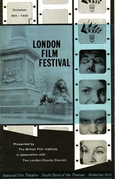 Poster from the 2nd London Film Festival - 1958