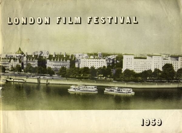 Poster from the 3rd London Film Festival - 1959
