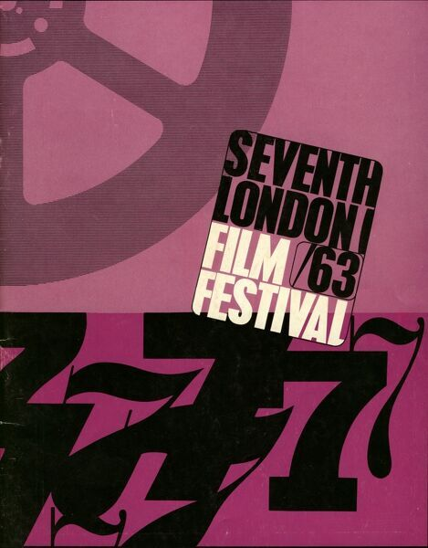 Poster from the 7th London Film Festival - 1963