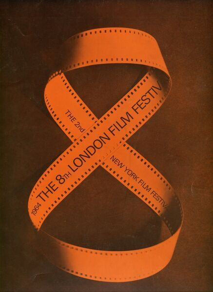 Poster from the 8th London Film Festival - 1964