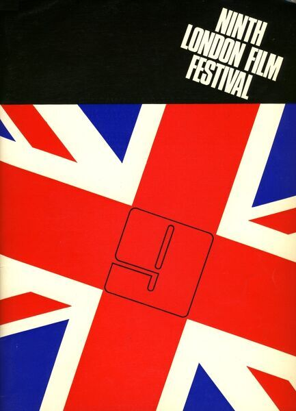 Poster from the 9th London Film Festival - 1965