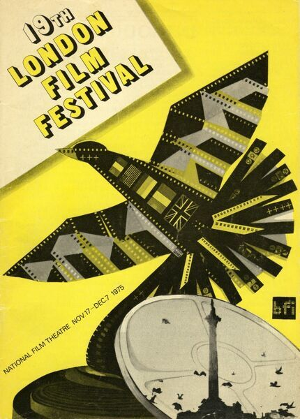 Poster from the 19th London Film Festival - 1975