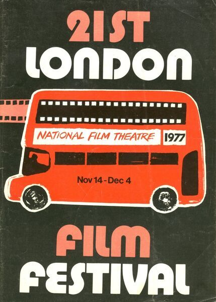 Poster from the 21st London Film Festival - 1971