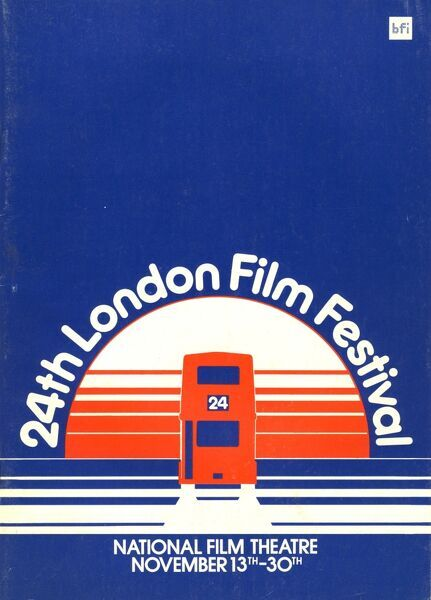 Poster from the 24th London Film Festival - 1980