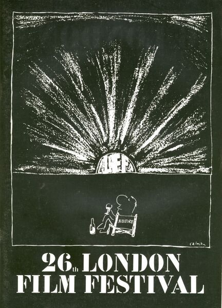 Poster from the 26th London Film Festival - 1982