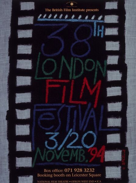 Poster from the 38th London Film Festival - 1994