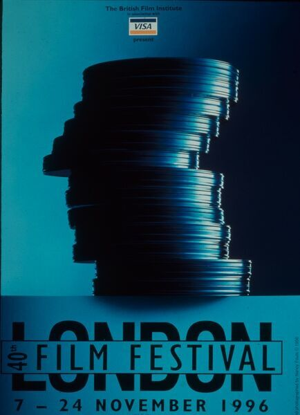 Poster from the 40th London Film Festival - 1996