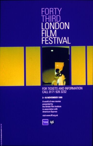 Poster from the 43rd London Film Festival - 1999