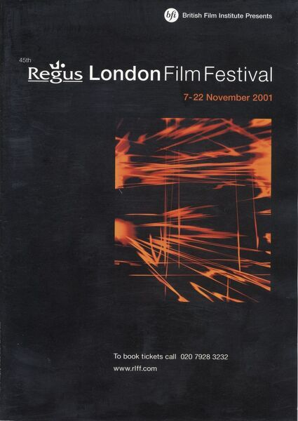 Poster from the 45th London Film Festival - 2001