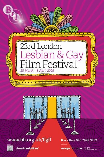 Poster for the 23rd London Lesbian & Gay Film Festival - 2009